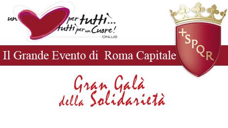 """Gran Gala di Solidarietà """"Un cuore per tutti… tutti per un cuore"""""""