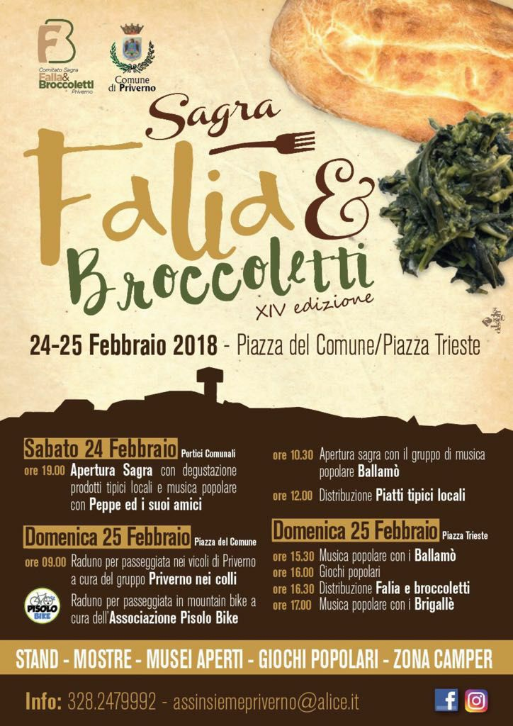 Sagra Falia e Broccoletti