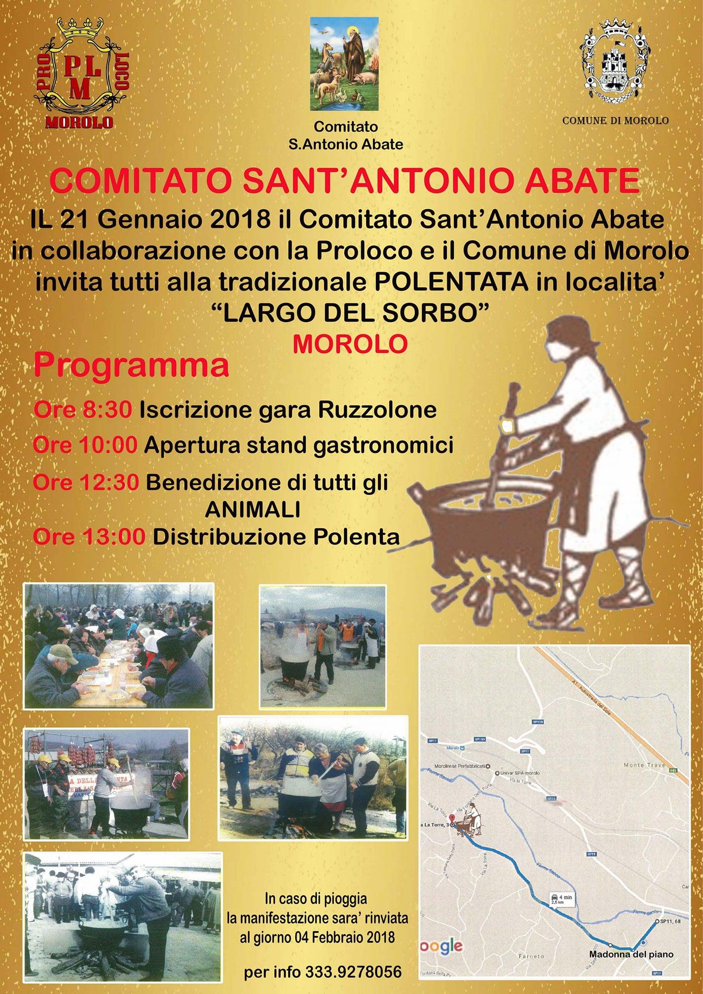 Tradizionale Polentata di Sant'Antonio