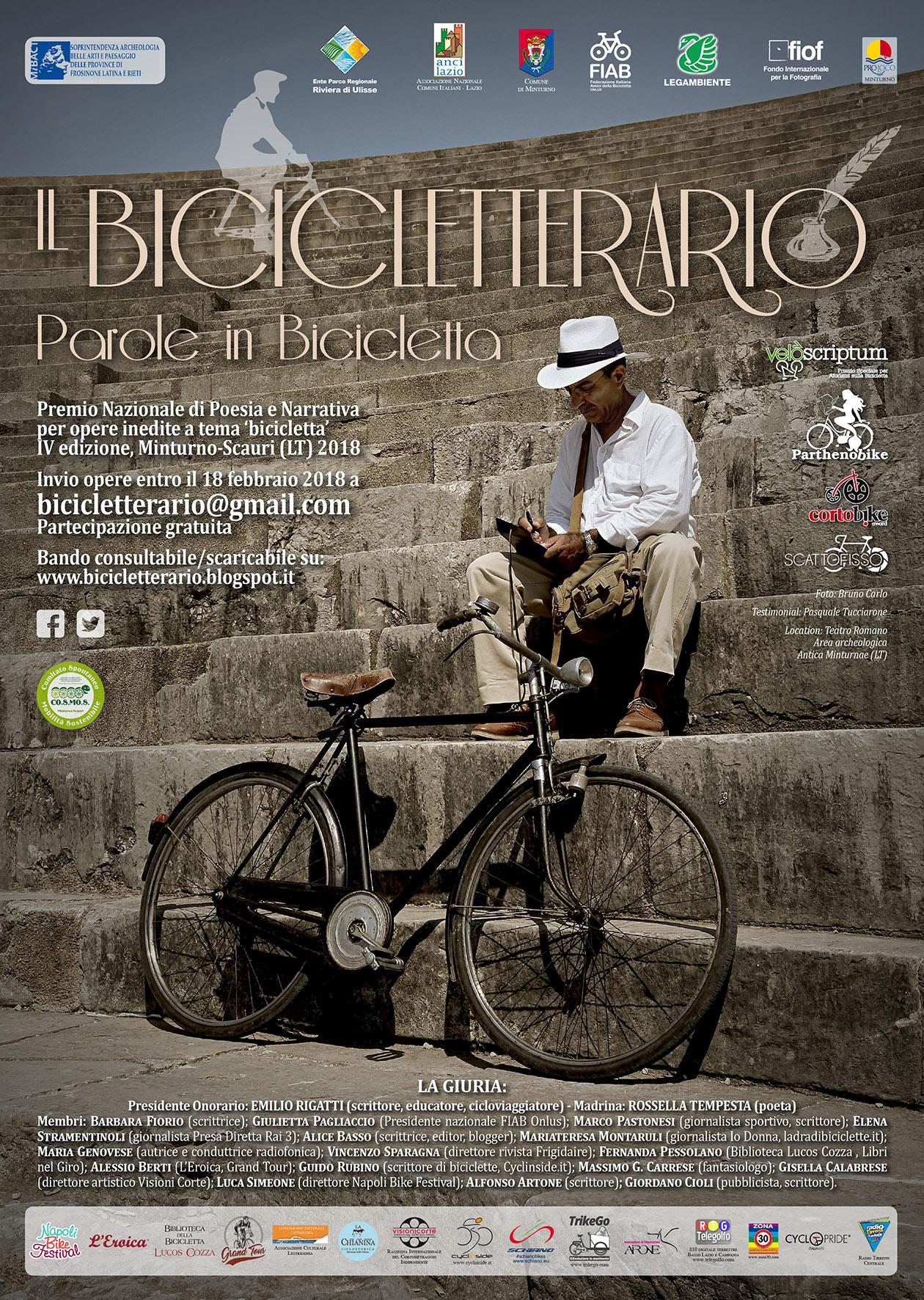 Il Bicicletterario – Parole in Bicicletta
