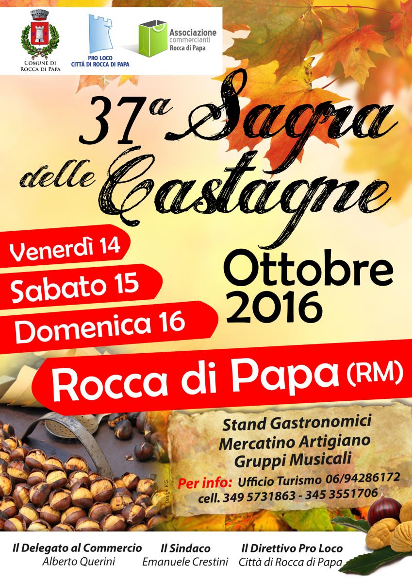 Sagra delle Castagne a Rocca di Papa