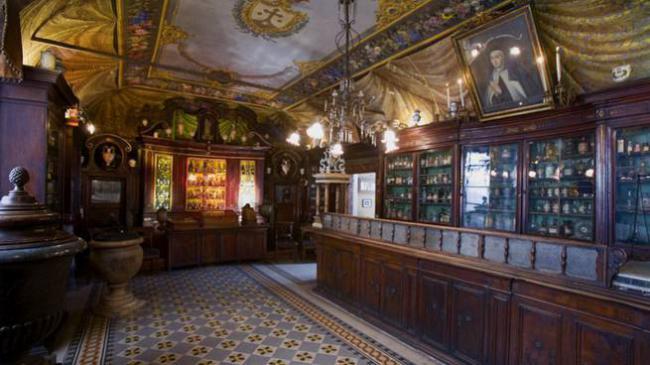 Roma Nascosta: Antica Spezieria (Antica Farmacia)