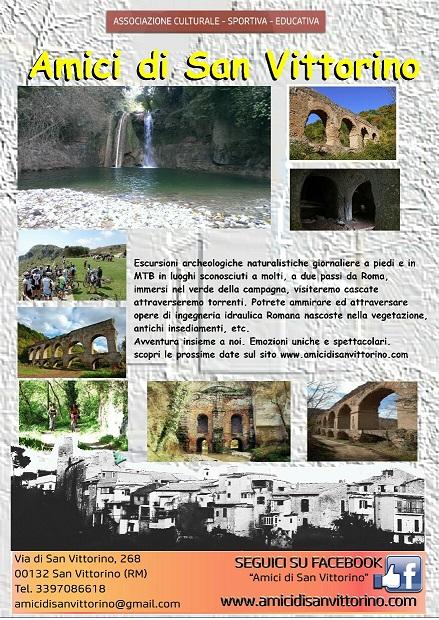 """Escursione archeologica """" I 5 ponti"""" - Acquedotti Romani"""