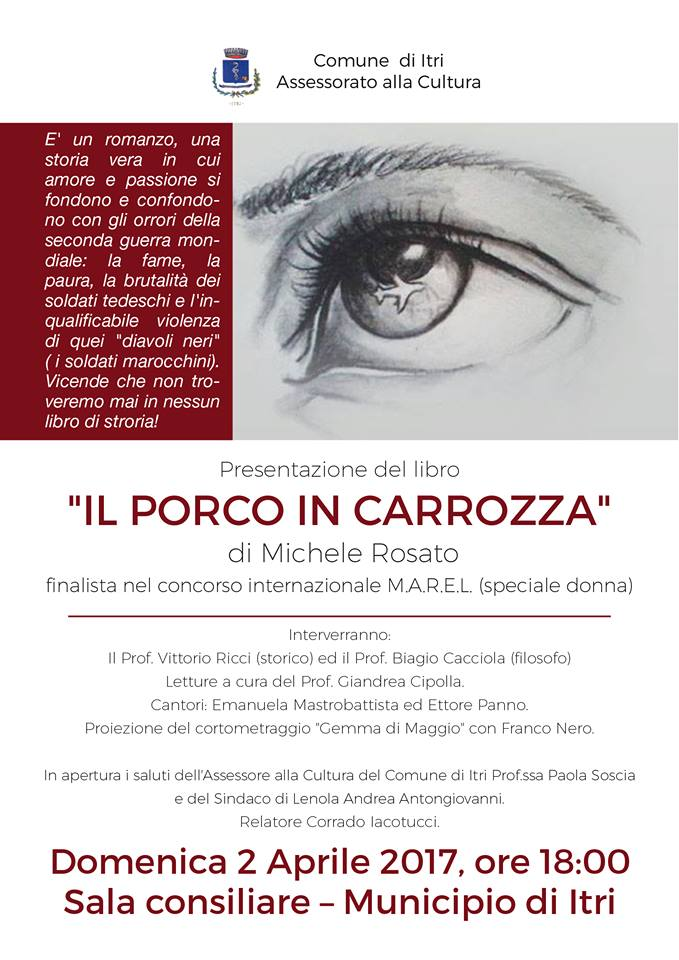 Presentazione del libro di Michele Rosato:il porco in carrozza