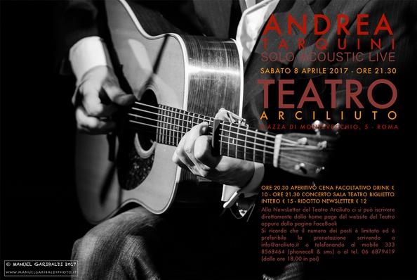 Andrea Tarquini Acoustic Live
