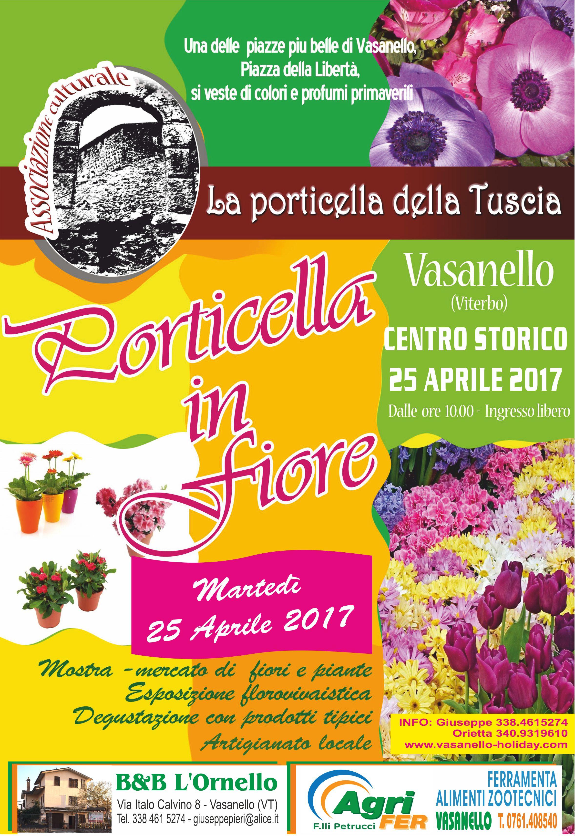 Porticella in Fiore