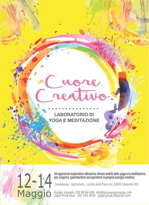 Cuore Creativo - Laboratorio di Yoga e Meditazione