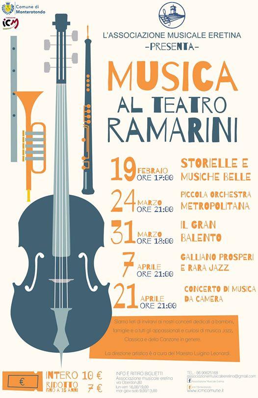 Musica al Teatro Ramarini