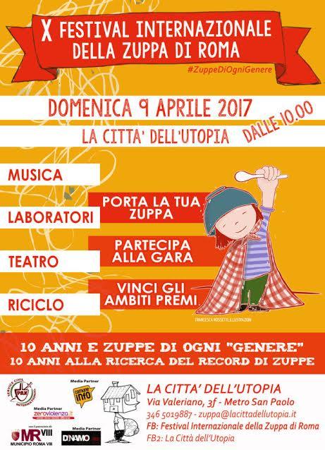 X Festival Internazionale della Zuppa di Roma