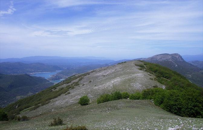Il Monte Cervia... e il lago del Turano