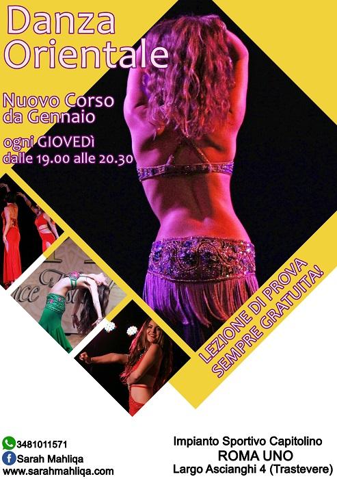 Nuovo Corso di Danza del Ventre a Roma - Trastevere