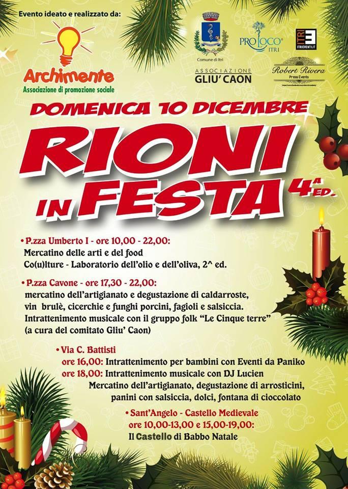 Rioni in festa