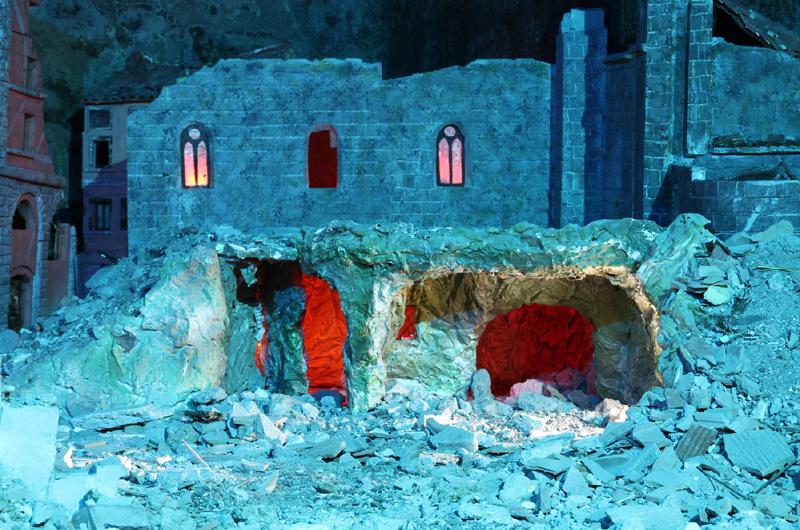 Viterbo Sotterranea: spettacolari ricostruzioni per ricordare i bombardamenti del 1944