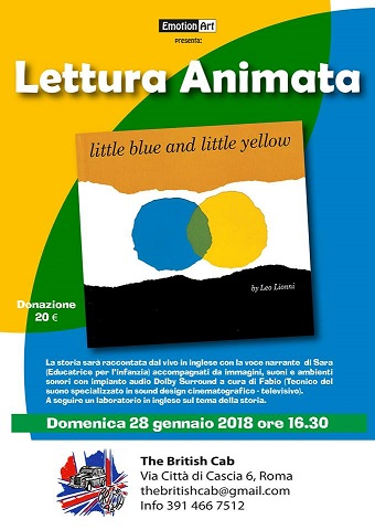 Little Blue and little yellow. Lettura e laboratorio in inglese