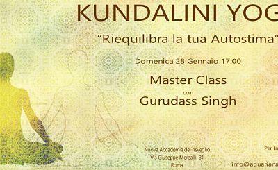 Riequilibra la tua Autostima – Masterclass con Gurudass Singh