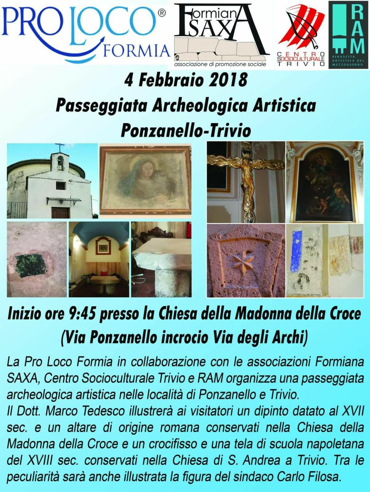 Passeggiata archeologica artistica a Trivio