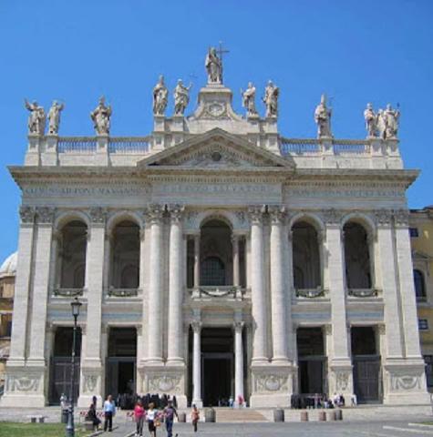 Il Battistero, la Basilica di San Giovanni in Laterano, la Scala Santa e la Cappella del Sancta Sanctorum