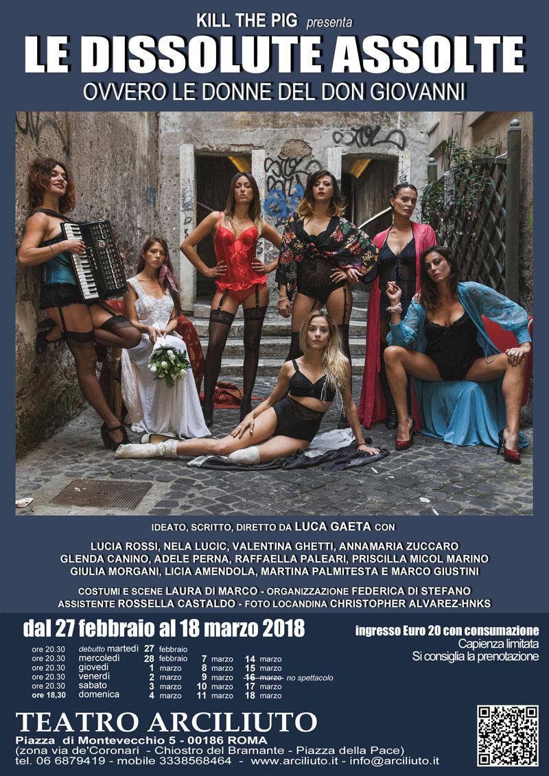 Le Dissolute Assolte (ovvero le donne del Don Giovanni)