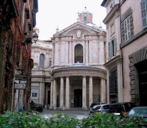 Le Sibille di Raffaello in Santa Maria della Pace e il Chiostro del Bramante