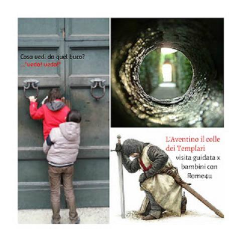 Il segreto dei Cavalieri di Malta, la ricerca del Santo Graal e le meraviglie del Colle Aventino - Visita guidata in maschera per bambini e ragazzi
