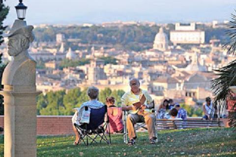 Roma sotto e sopra - Passeggiata storico-culturale del colle del Gianicolo, scendendo in direzione di Trastevere