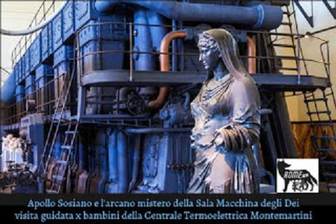 L'arcano Mistero della Sala Macchine degli Dei e del Treno a Vapore del Papa - Visita guidata per bambini al Museo della Centrale Termoelettrica Montemartini, Roma