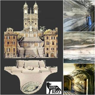 Visita guidata - Illusioni prospettiche, anamorfosi criptiche e segreti incanti di Trinità dei Monti