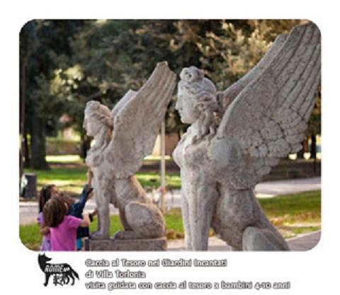 Caccia al Tesoro in maschera nei giardini incantati di Villa Torlonia e della Casina delle Civette - Visita guidata per bambini