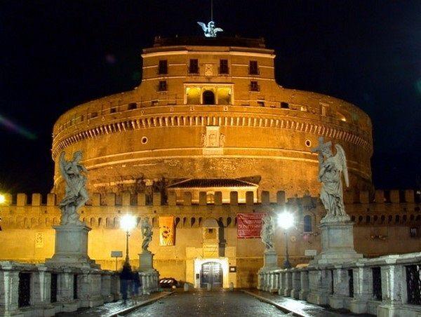 Tramonto su Castel Sant'Angelo