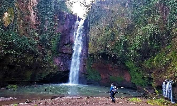 La cascata del Picchio ed i Cavoni di Nepi