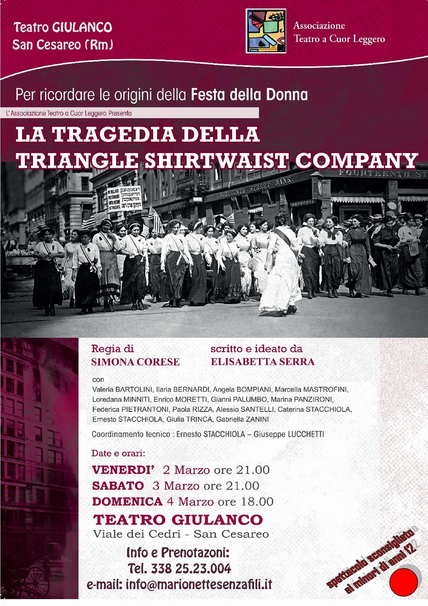 La tragedia della Triangle Shirtwaist Company