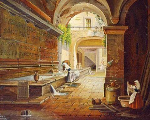 I sotterranei dell''acquedotto Virgo e il Percorso dell'Acqua