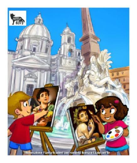 A tu per tu con Bernini, Borromini e Caravaggio sulle ali del Barocco - Visita guidata per bambini