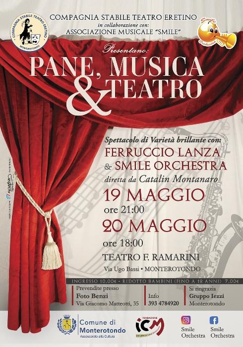 PANE, MUSICA & TEATRO