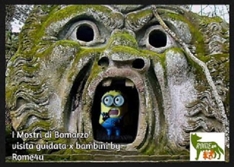 I Mostri di Bomarzo - Visita guidata per bambini e ragazzi