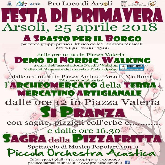 Festa della Primavera e Sagra della Pizzafritta