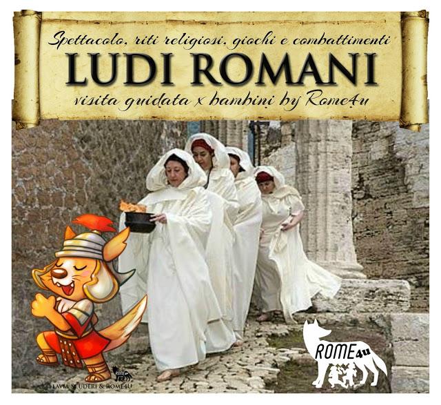 I Ludi Romani spiegati ai Bambini: spettacolo, riti religiosi, gare e combattimenti - Visita guidata per bambini