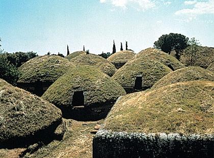 Tesori del Lazio: La Necropoli di Cerveteri