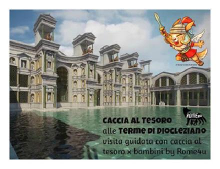 Caccia al tesoro alle Terme di Diocleziano - Visita guidata per bambini