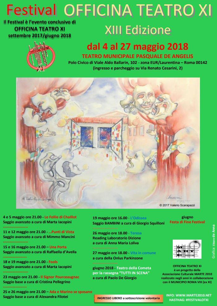 Festival Officina Teatro XI - XIII edizione
