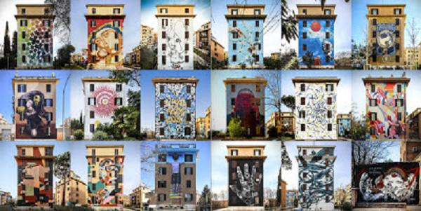 Roma da Vivere: visita guidata ai Murales di Tor Marancia