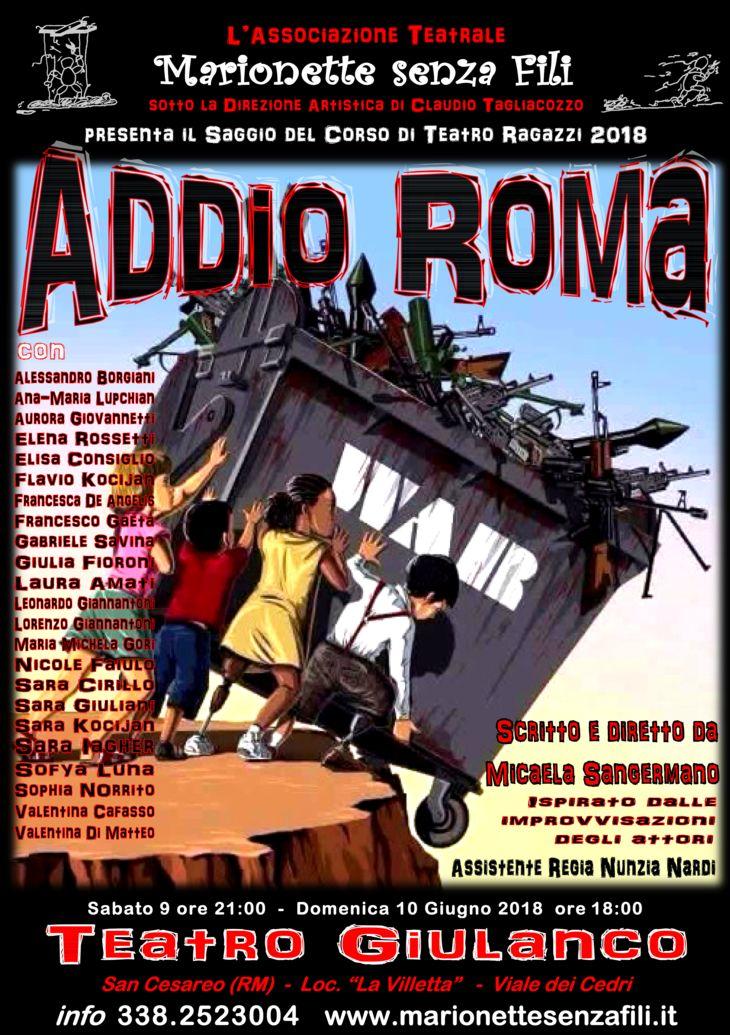 ADDIO ROMA