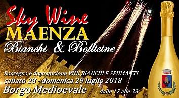 Sky Wine / Edizione BIANCHI & BOLLICINE (Vini bianchi e vini spumanti)