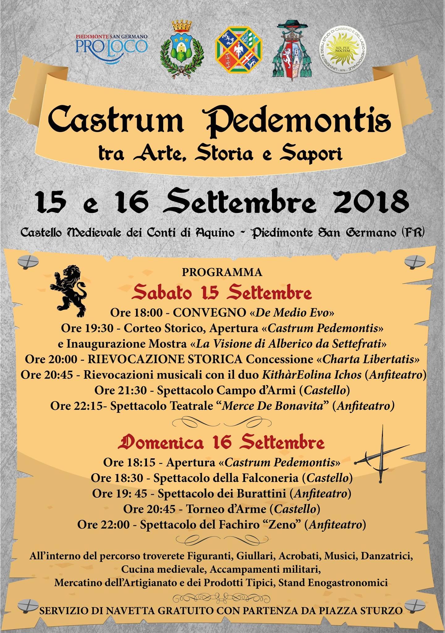 Castrum Pedemontis