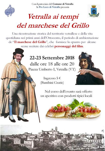 """Vetralla ai tempi de """"Il marchese del Grillo"""""""