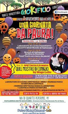 Una giornata da paura! Festa di Halloween al Giokificio