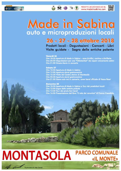 Made in Sabina....auto e micro-produzioni locali