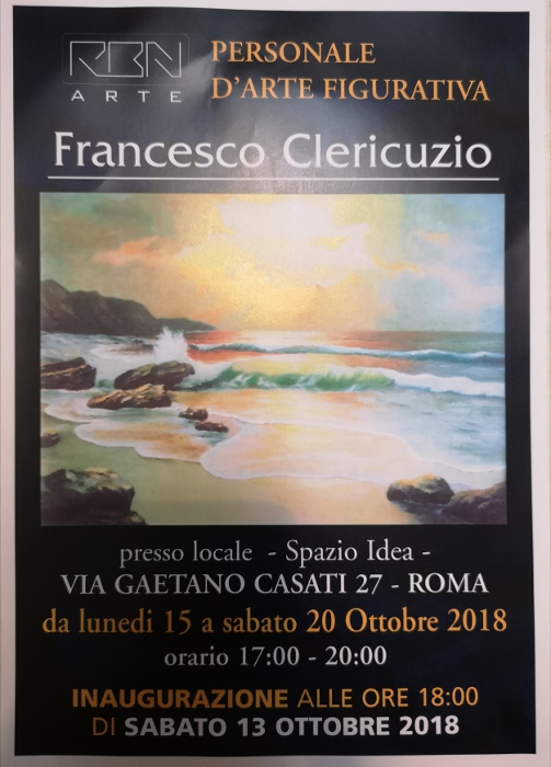 Mostra Personale Francesco Clericuzio