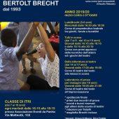 Scuola di Teatro Bertolt Brecht - Aperte le Iscrizioni