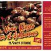 Castagne Vino rosso e Sapori d'Autunno